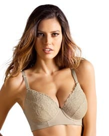 lacey push-up control bra-848- Nude-MainImage