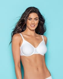 delicate triangle bra with lace--MainImage