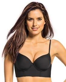 retro longline push up petite bra--MainImage