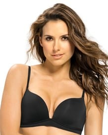brasier doble realce sin aro - power bra-700- Black-MainImage