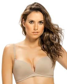 power bra de doble realce sin arco-802- Beige-MainImage