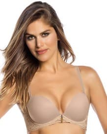 lace balconet bra with triple push-up--MainImage