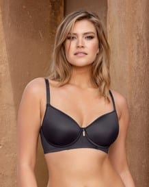 everyday support bra with underwire-700- Black-MainImage