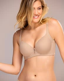 back smoothing bra with soft full coverage cups - high profile - coverbra--MainImage
