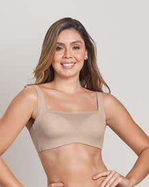 mesh front minimizer contouring bra--MainImage