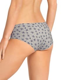 culotte invisible extremadamente comodo-730- Gray with Flowers-ImagenPrincipal