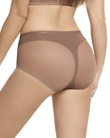 truly undetectable comfy panty shaper-087- Natural with Shiny Copper Overlay-MainImage