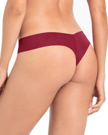 no ride-up seamless thong panty-259- Red-MainImage