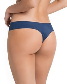 no ride-up seamless thong panty-588- Dark Blue-MainImage