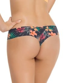 no ride-up seamless thong panty-849- Tropical Flowers-MainImage