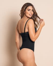 invisible shaper with thong-700- All Black-MainImage