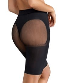 well-rounded invisible butt lifter shaper short-700- Black-MainImage