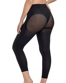 invisible super comfy compression high-waisted capri shaper-700- All Black-MainImage