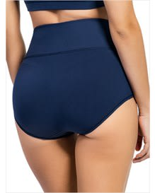 high-waisted classic smoothing brief-567- Dark Blue-MainImage
