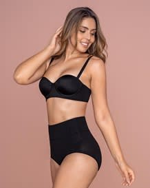 high-waisted classic smoothing brief-700- Black-MainImage