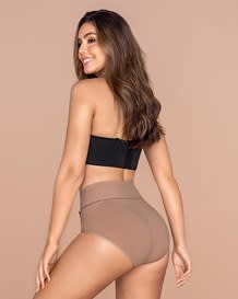 high-waisted classic smoothing brief-852- Beige-MainImage
