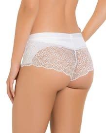 fabulous lace hip hugger control panty-134- White-MainImage