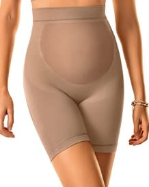 seamless maternity support panty-852- Beige-MainImage