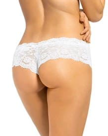 elegant lace hip hugger panty--MainImage