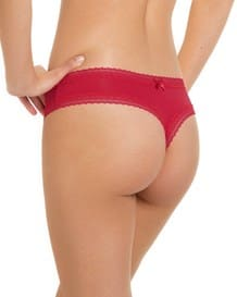 smooth personal fit thong-136- Red-MainImage