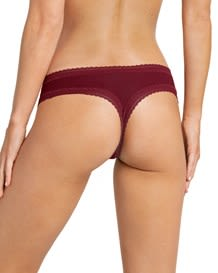 sexy panty tipo brasilera en tela ultraliviana-174- Burgundy-MainImage