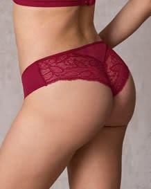 cheeky lace knicker with booty lift--MainImage