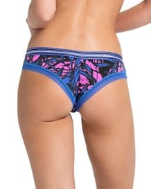panty hipster descaderado en durafit-008- Black/Pink Leaves-MainImage