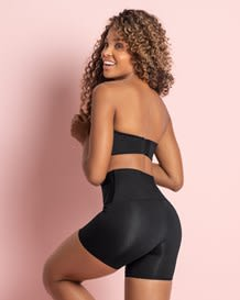 forward moderate compression high-waisted shaper short activelife power--MainImage