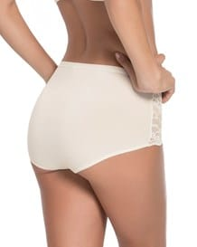 comfy classic hi-cut brief-898- Ivory-MainImage