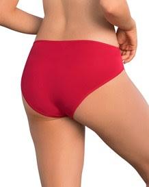 panty estilo bikini de tiro alto-323- Red-MainImage