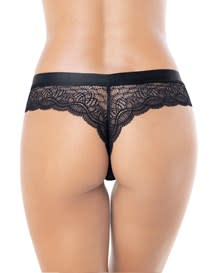 thrilling thong in sexy lace--MainImage