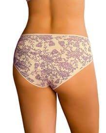 bloomer de algodon estilo bikini de tiro alto-089- Lilac Print-MainImage