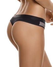 panty estilo brasilera con acabado camuflado y malla-167- Beige-MainImage