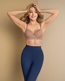 leggins con control de abdomen y cintura-509- Dark Blue-MainImage