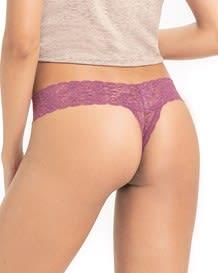 panty estilo brasilera en encaje de seduccion-337- Light Purple-MainImage