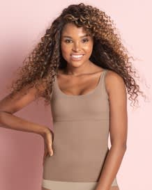undetectable edge slimming tank-857- Brown-MainImage