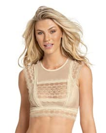 bralette de encaje con transparencias tipo crop top-898- Ivory-MainImage