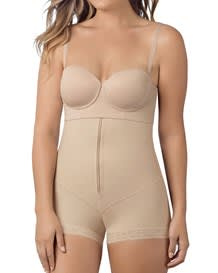 strapless power tummy trimmer compression shaper--MainImage