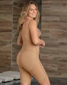 power body shaper with thighs slimmer and side zippers--MainImage