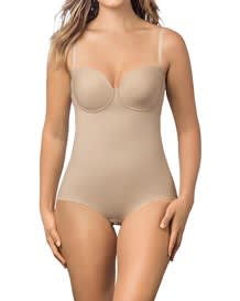 slimming bodysuit with supportive cups-802- Nude-MainImage