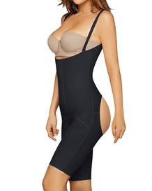 slimming shaper with booty lift-700- Black-MainImage