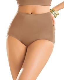 high-cut classic shaper panty-857- Brown-MainImage