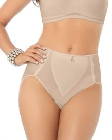 high cut firm control panty-802- Nude-MainImage