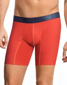 boxer largo en confortable algodon-290- Orange-MainImage