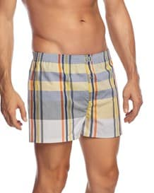 mens cotton boxer short-151- Yellow-MainImage
