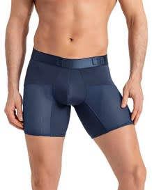 boxer largo leo con malla deportiva-509- Dark Blue-MainImage
