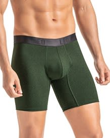 leo flex-fit cotton boxer brief-171- Green-MainImage