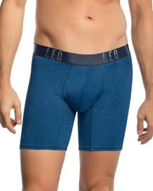 leo flex-fit boxer shorts aus baumwolle-175- Blue-MainImage