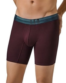 leo flex-fit boxer shorts aus baumwolle-382- Wine-MainImage