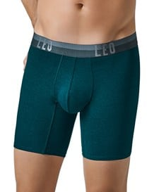 leo flex-fit cotton boxer brief-666- Green-MainImage